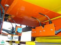 Instalación de microinterruptores en puente grua