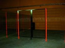 Puertas batientes de dos hojas instaladas en SINCOTRON ALBA