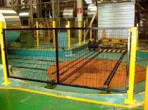 Puerta batiente de 3 metros de ancho